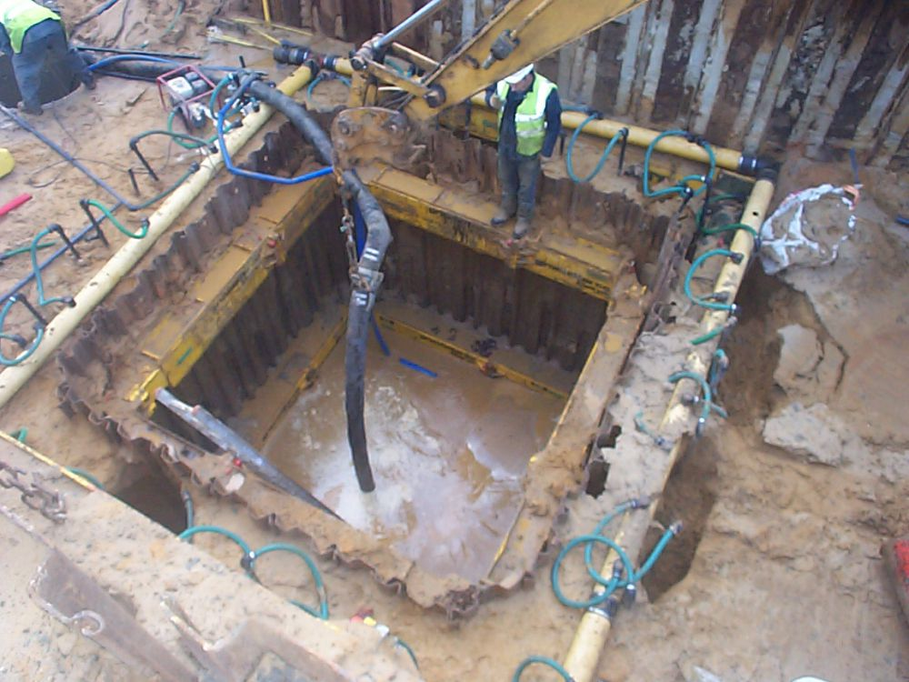 Projects jk newman contracting ltd for Basement construction methods
